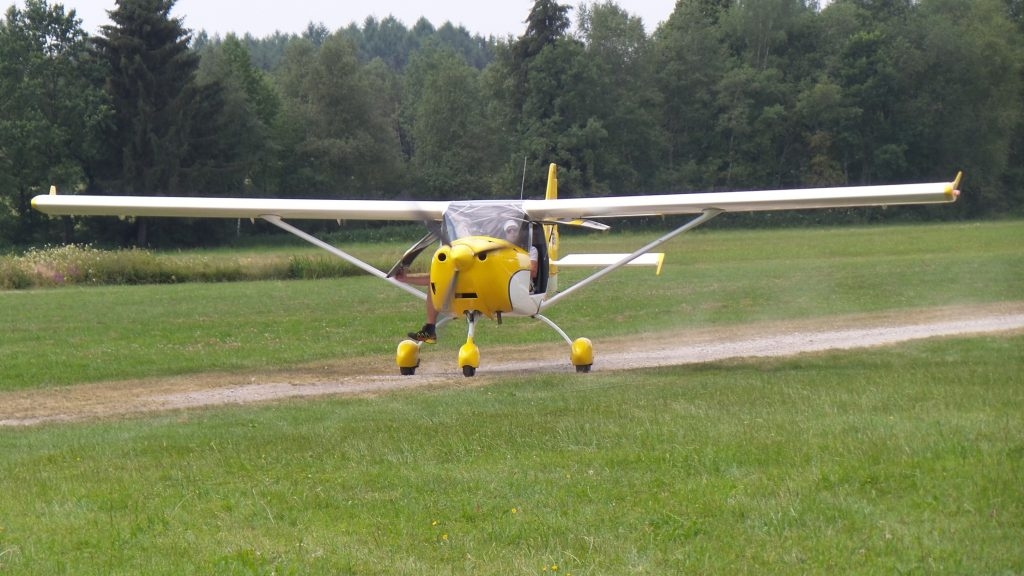 Unser UL-Flugzeug D-MUTI